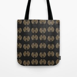Odd order - Pattern of symmetric squeezed shapes Tote Bag