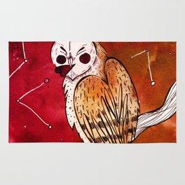 Valentine Owl Rug