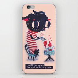 I will not obey chihuahua iPhone Skin