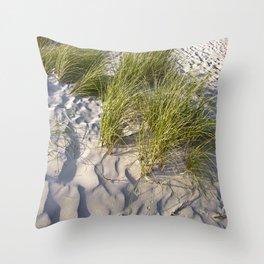 Sand Dune of Denmark Throw Pillow