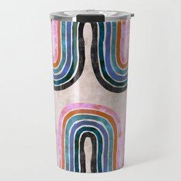 Retro Wave Travel Mug
