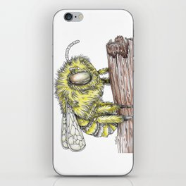 The Fluffy Bee iPhone Skin