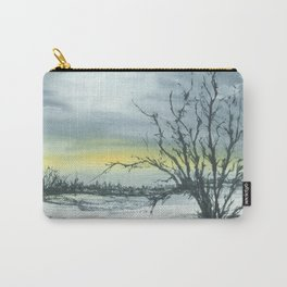 A touch of yellow, Watercolour Carry-All Pouch
