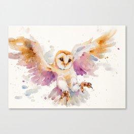 Twilight Owl Canvas Print