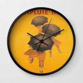 Vintage poster - Parapluie-Revel Wall Clock