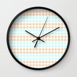 Little Diamonds Wall Clock