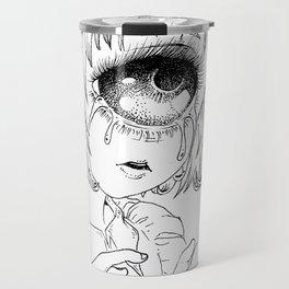 Crying cyclop Travel Mug