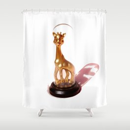 Golden Sophie Shower Curtain