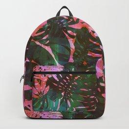 Motuu Tropical Pink & Green Backpack