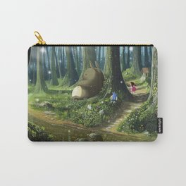 Totoro and Mei Carry-All Pouch