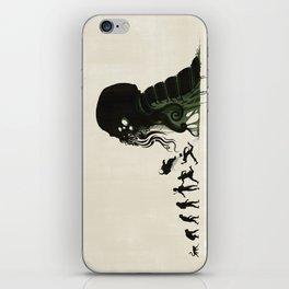 Lovecraftian Darwinism iPhone Skin