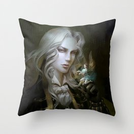 Alucard. Castlevania Symphony of the Night Throw Pillow