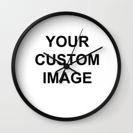 Custom- Do Not purchase on here,Please send me email with image christineiris@gmail.com  Thanks :) Wall Clock