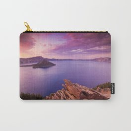 Crater Lake Sunset Carry-All Pouch