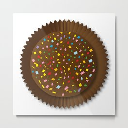 Chocolate Box Sprinkles Metal Print