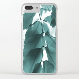 Leaves VI Clear iPhone Case