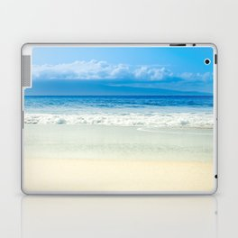 Beach Blue Kapalua Golden Sand Maui Hawaii Laptop & iPad Skin