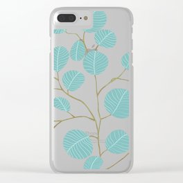 Eucalyptus No. 1 Clear iPhone Case