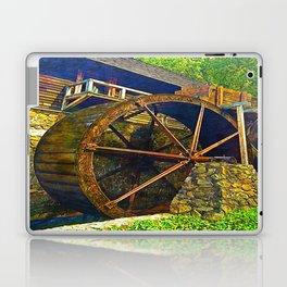 Gristmill Water Wheel Laptop & iPad Skin
