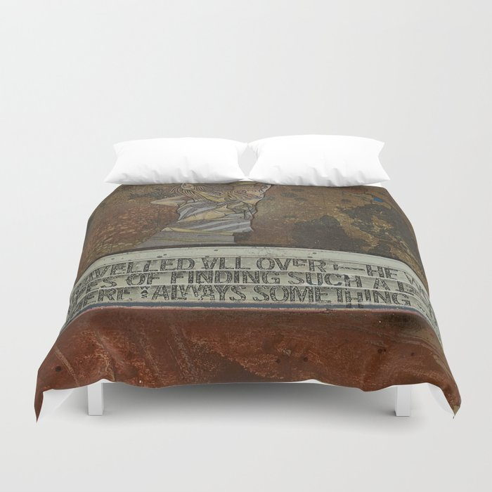 Breadcrumbs: Princess and the Pea Duvet Cover