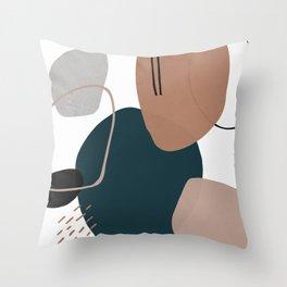 Stone's Throw Throw Pillow