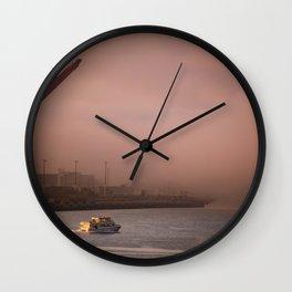 Seattle Morning Wall Clock