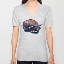 Cosmic Snail Unisex V-Neck