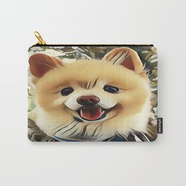 Pomeranian the Teddy Bear Puppy Carry-All Pouch