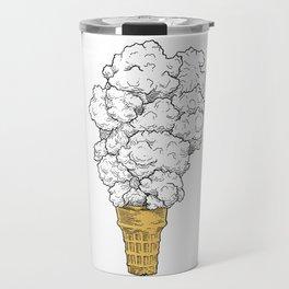 Volcano ice cream Travel Mug