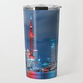 Shangai, China Travel Mug
