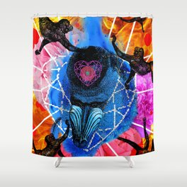 2016 THE FIRE MONKEY YEAR Shower Curtain