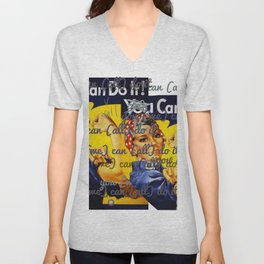 We Can All Do It Unisex V-Neck