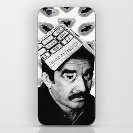 Gabriel García Márquez iPhone Skin