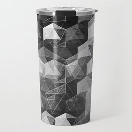 as the curtain falls (monochrome series) Travel Mug