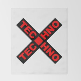 Techno Throw Blanket