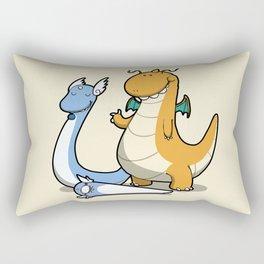 Pokémon - Number 147, 148 and 149 Rectangular Pillow