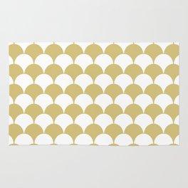 Fan Pattern 321 Gold Rug