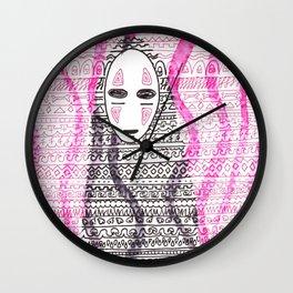 sans visage Wall Clock