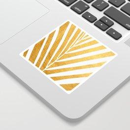 Golden leaf VIII Sticker