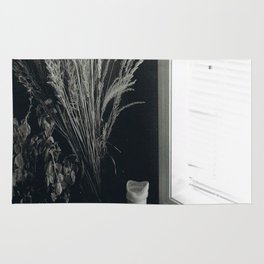 plants by the window Rug