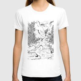 Yosemite sketch T-shirt