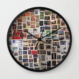 Postcards Wall Wall Clock