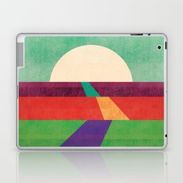 The path leads to forever Laptop & iPad Skin