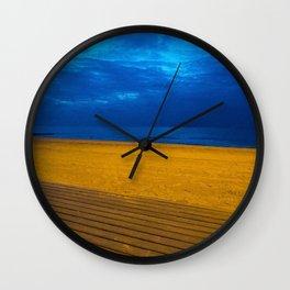 A night at the beach Wall Clock