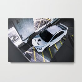 Evo TOp view Metal Print