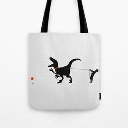 Bad Dino Tote Bag