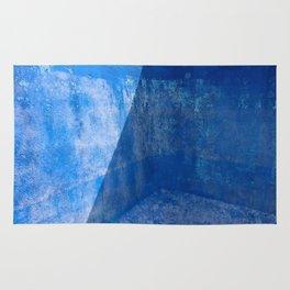 Blue Pool Shadow Abstract 1 Rug