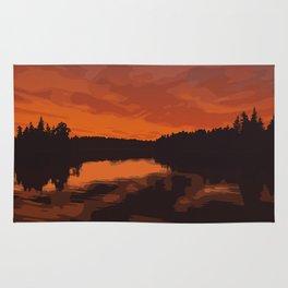 Nopiming Provincial Park Poster Rug