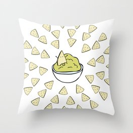Chips'n'dip Throw Pillow