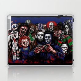 Horror Villains Selfie Laptop & iPad Skin